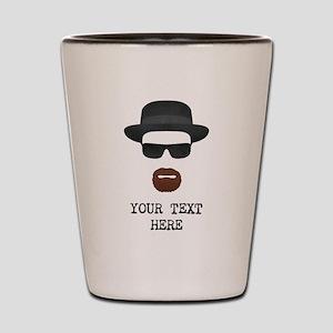 [Your Text] Heisenberg Shot Glass